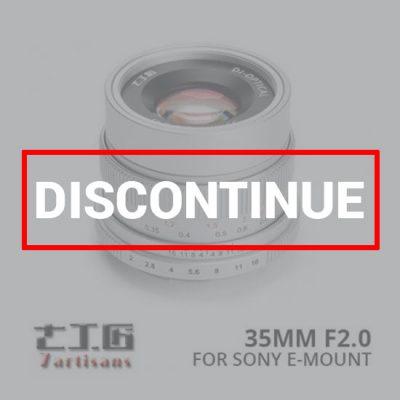 jual lensa 7Artisans 35mm f2.0 for Sony E-Mount - Silver harga murah surabaya jakarta