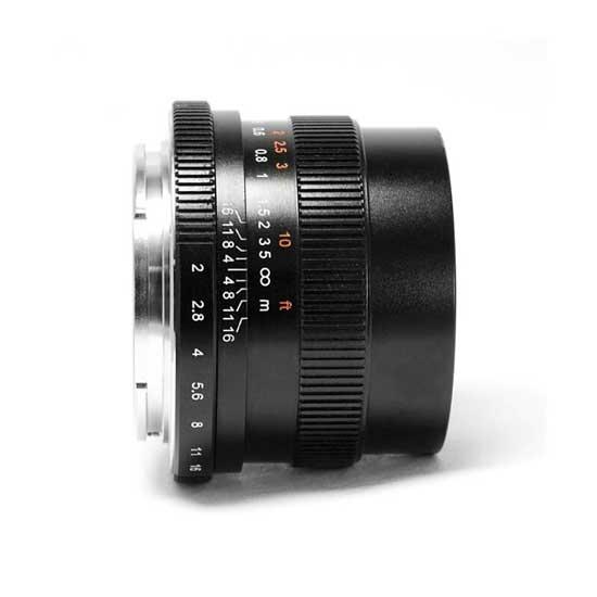 Jual Lensa 7Artisans 35mm f2.0 for Canon EOS-M - Black