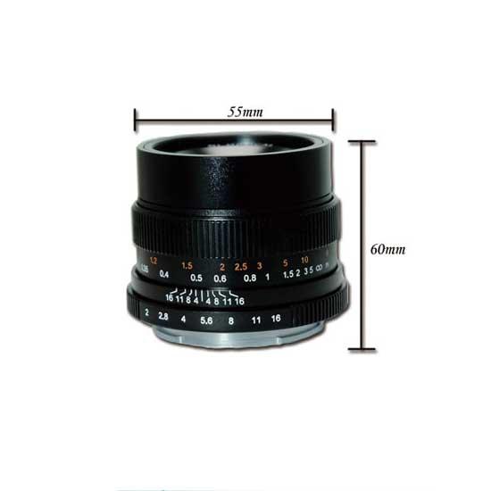 Jual Lensa 7Artisans 35mm f2.0 for Fujifilm X - Black