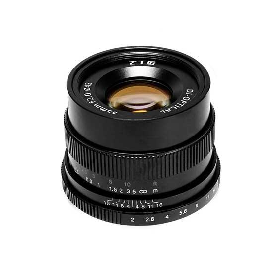 Jual Lensa 7Artisans 35mm f2.0 for Sony E-Mount - Black