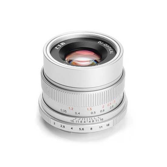 Jual Lensa 7Artisans 35mm f2.0 for Sony E-Mount - Silver