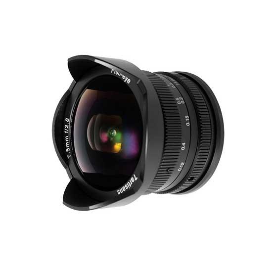 Jual Lensa 7Artisans 7.5mm f2.8 for Sony E-Mount - Black