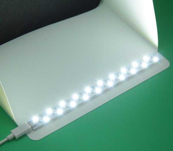 Jual Photo Studio Mini LED - Size Medium Harga Terbaik