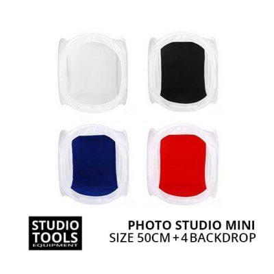 Jual Portable Photo Studio Mini 4 Backdrop Size 50cm