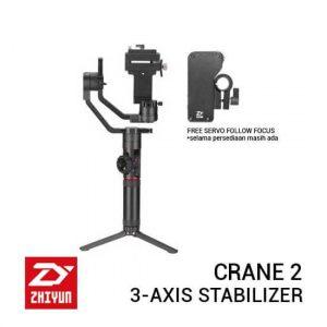 jual Zhiyun Crane 2 3-Axis Gimbal Stabilizer with Follow Focus harga murah surabaya jakarta