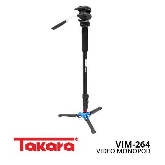 Jual Takara VIM-264 Video Monopod toko kamera online surabaya dan jakarta
