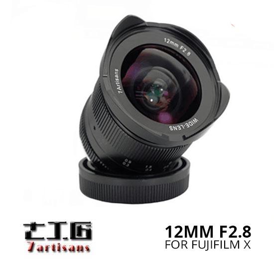 Jual-7Artisans-12mm-f2.8-for-Fuji-X-[Black]-Harga-Terbaik