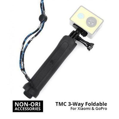 Jual Aksesoris Kamera GoPro TMC 3-Way Foldable for Xiaomi & GoPro HR-289 3rd Party Harga murah