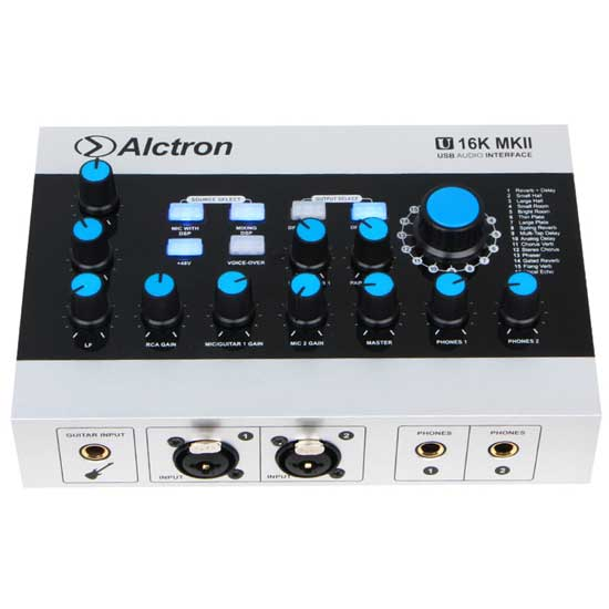 Jual Alctron U16K MK-II USB Audio Interface Harga Mixer Adapter Murah