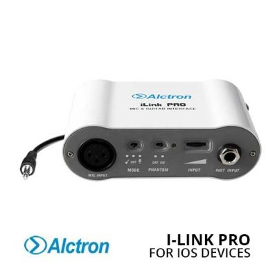 Jual Alctron i-Link Pro Mobile Audio Interface for iOS Devices Harga Terbaik