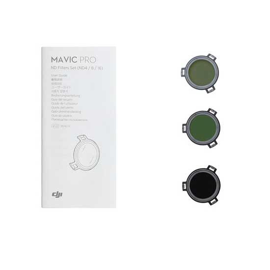 DJI Mavic ND Filter Set ND4 ND8 ND16