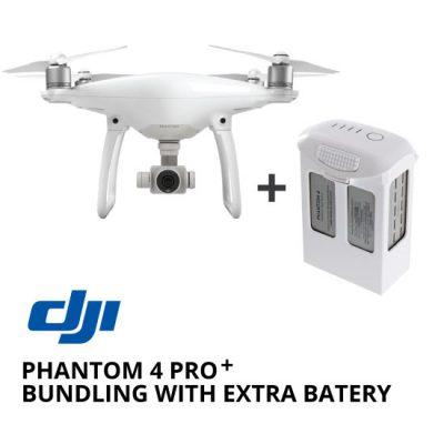 jual drone DJI Phantom 4 Pro+ Bundling with Extra Battery harga murah surabaya dan jakarta