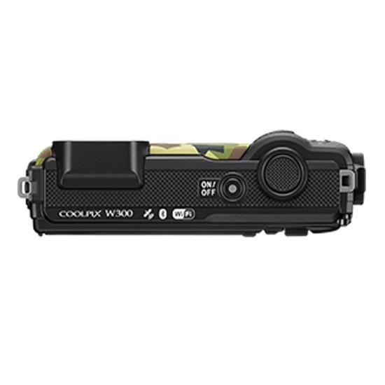 Jual Kamera Pocket Nikon Coolpix w300 Army green Harga Murah