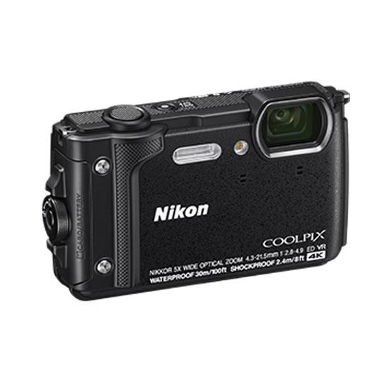Jual Kamera Pocket Nikon Coolpix w300 Black Harga Murah