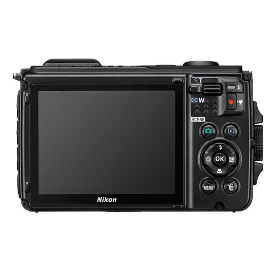 Jual Kamera Pocket Nikon Coolpix w300 Orange Harga Murah