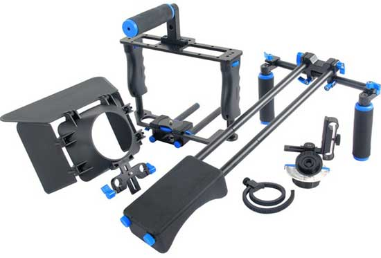 Jual Rig Shoulder 5 in 1 Camera Cage for Kamera DSLR Harga Terbaik