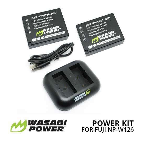 Jual Wasabi Power Kit For Fujifilm NP-W126 Harga Terbaik