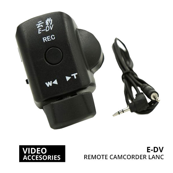Jual video aksesoris remote E-DV Remote Video Camcorder LANC harga murah