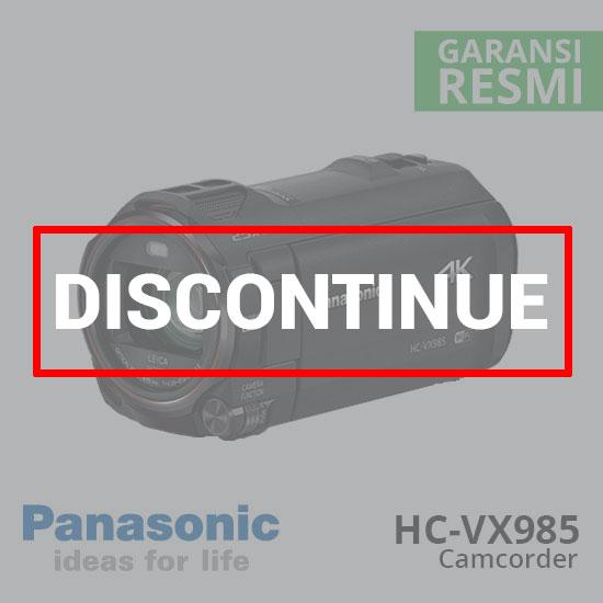 jual Panasonic Camcorder HC-VX985 4K Ultra HD harga murah surabaya jakarta