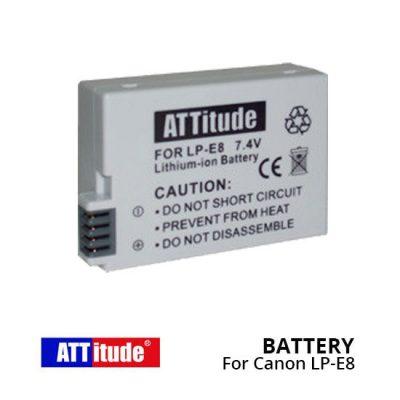 Jual Aksesoris Kamera ATT Battery LP-E8 For Canon Harga murah