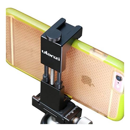 Jual Aksesoris Smartphone Ulanzi Iron Man II Alumunium Smartphone Tripod Mount Adapter Harga Murah