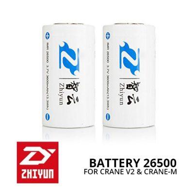 Jual Aksesoris Stabilizer Zhiyun Battery 26500 for Crane V2 & Crane-M Harga Murah