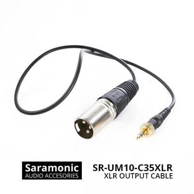 Jual Audio Cable dan Adapter Saramonic SR-UM10-C35XLR Replacement XLR Output Cable Harga Murah