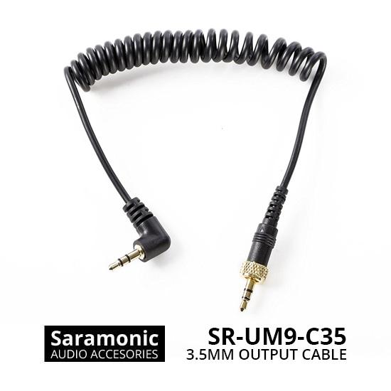 Jual Audio Cable dan Adapter Saramonic SR-UM9-C35 Replacement 3.5mm Output Connector Cable Harga Murah
