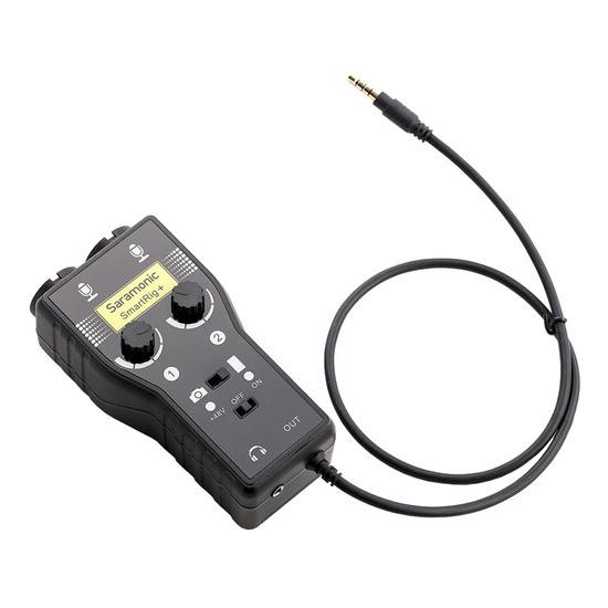 Jual Audio Microphone Audio Mixer Saramonic SmartRig+ 2 Channel 3.5mm Microphone Harga Murah