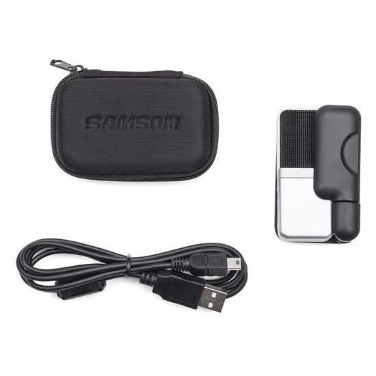 Jual Audio Microphone Condenser Samson GO MIC Portable USB Condenser Microphone Harga Murah