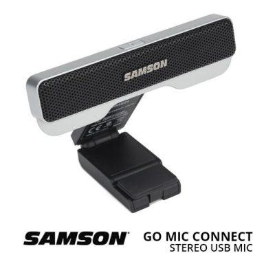 Jual Audio Microphone Stereo Samson Go Mic Connect Portable Stereo USB Microphone Harga Murah