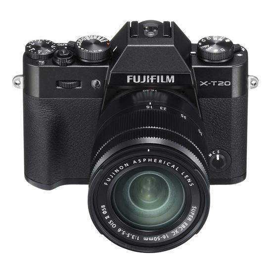 Jual Digital Cameras Kamera Mirrorless Fujifilm X-T20 with XC 16-50mm F/3.5-5.6 OIS II Black Harga Murah