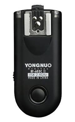 Jual Flash Aksesoris Trigger YongNuo RF-603C II Extra Transceiver Harga Murah