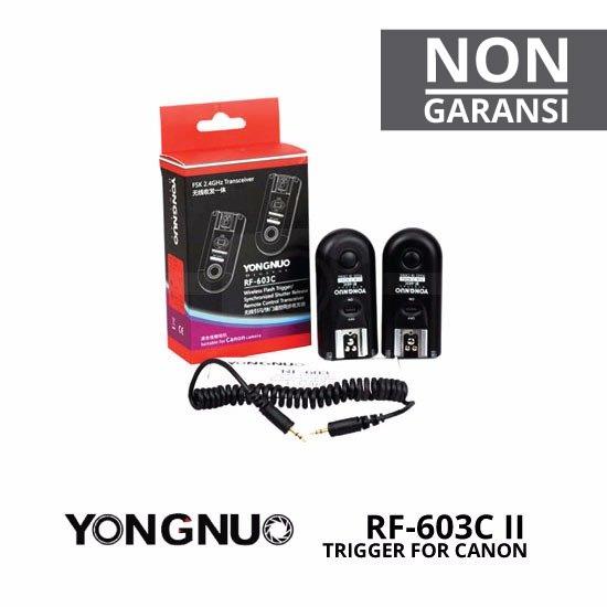 Jual Flash Accessories Trigger Yongnuo RF-603C II Trigger Canon Harga Murah