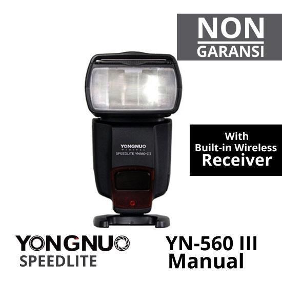 Jual Flash Manual YongNuo YN-560 III Manual Flash Harga Murah