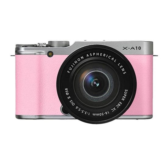 Jual Kamera Mirrorless FUJIFILM X-A10 Kit XC 16-50mm f 3.5-5.6 OIS II Pink Harga Murah