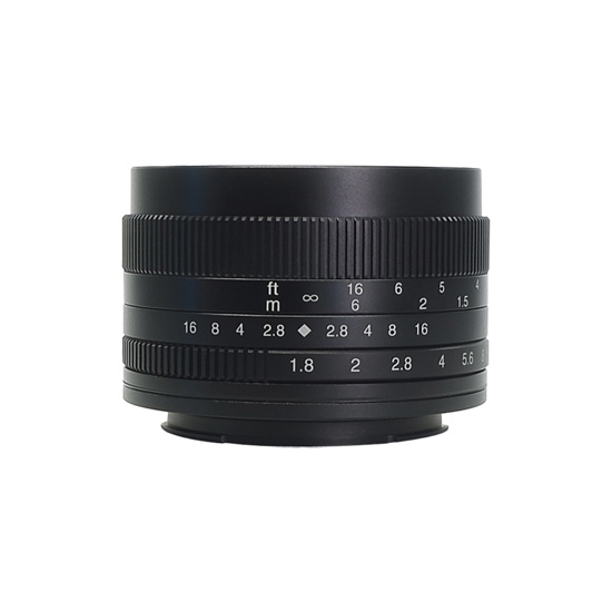 Jual Lensa 7Artisans 50mm f1.8 for Sony E-Mount - Black Harga Murah