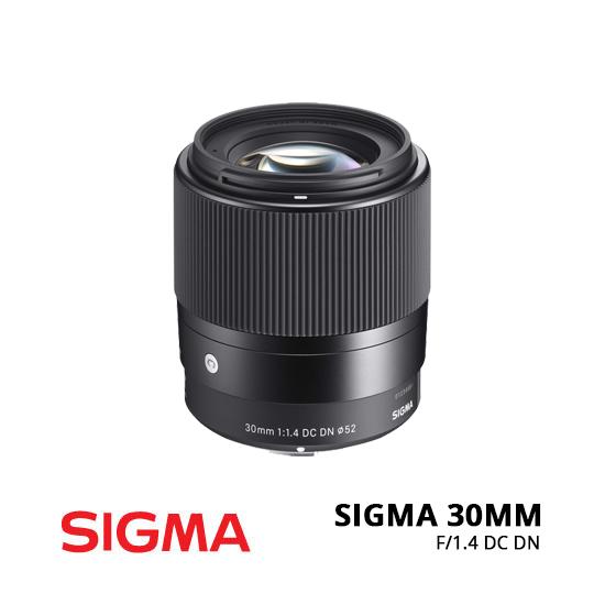 Jual Lensa Sigma 30MM f/1.4 DC DN C Sony E Harga Murah Surabaya Jakarta