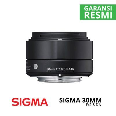 Jual Lensa Sigma 30mm F2.8 DN (A) for Sony Harga Murah