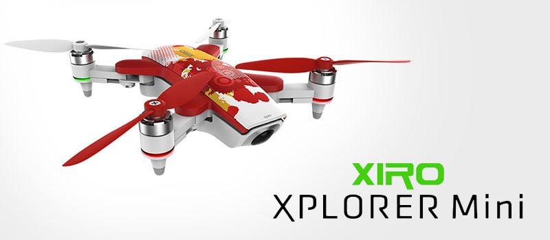 Xiro XPLORER Mini Discovery Red