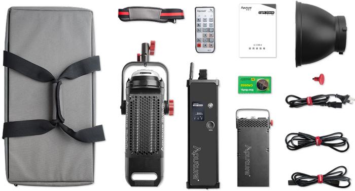 Jual Studio Tools Aputure Light Storm LED Video Light LS COB 300D Harga Terbaik