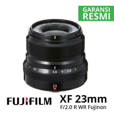 Jual lensa Fujinon XF 23mm f2.0 R WR Black Harga Murah Surabaya Jakarta