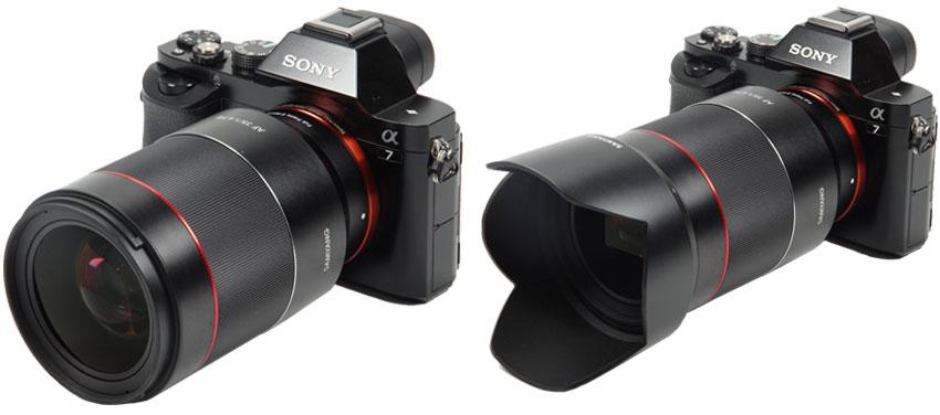 Jual lensa Samyang AF 35mm f1.4 FE for Sony NEX Harga murah
