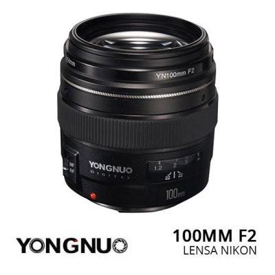 Jual lensa Yongnuo 100mm f.2 for Nikon Harga Murah