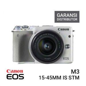 Kamera Canon EOS M3 Kit EF-M15-45mm Putih Harga Murah Terbaik - Spesifikasi