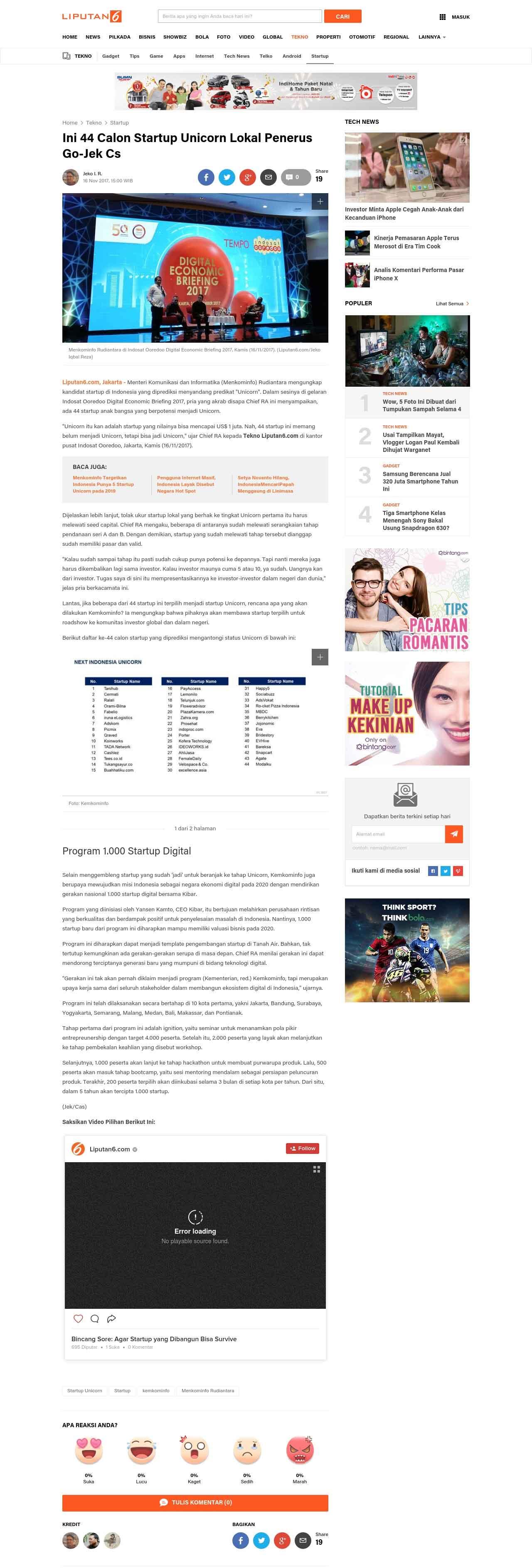 Liputan media plazakamera di liputan6.com