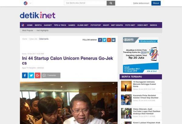 Detik 44 Startup Unicorn