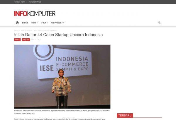 InfoKomputer 44 Startup Unicorn