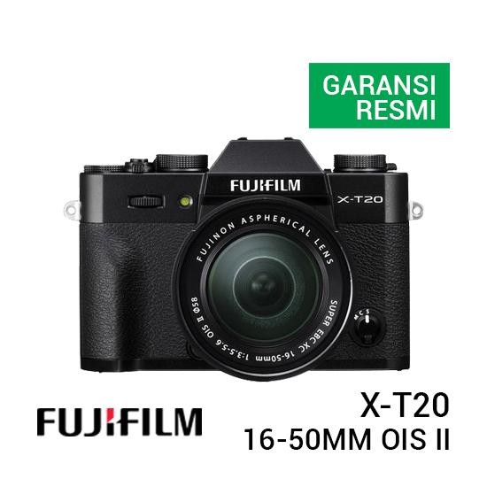 jual kamera Fujifilm X-T20 with XC 16-50mm F/3.5-5.6 OIS II Black harga murah surabaya jakarta