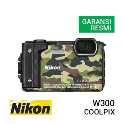 jual kamera Nikon Coolpix W300 Army Green harga murah surabaya jakarta